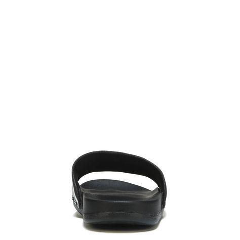 8a4d46a1abf Adidas Women s Adilette Cloudfoam Stripes Slide Sandals (Black White Blk)