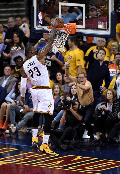 LeBron James Photos - LeBron James #23 of the Cleveland Cavaliers