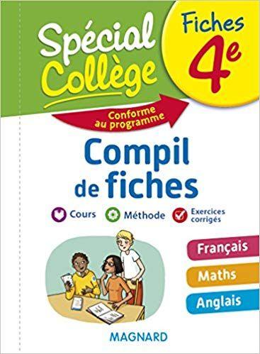 Special College Compil De Fiches 4e Telechargement Livre