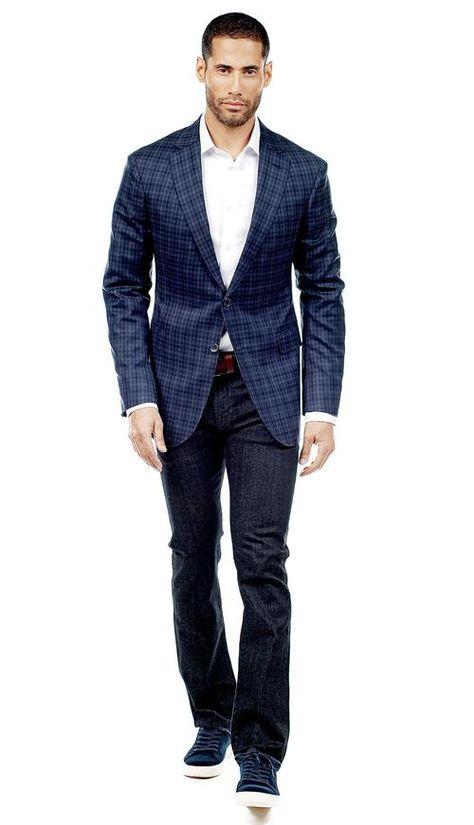 Navy and Black Royal Check Jacket  #menswear #mensfashion #graysuit #mensstyle #glennplaid #wedding #weddingsuit #groom #groomssuit #groomsmen #groomsman #weddingstyle #suitandtie #bluesuit #plaidsuit #strippedsuit #pinstripes #tux #tuxedo #weddingtuxedo #blacktux #plaid #plaidjacket