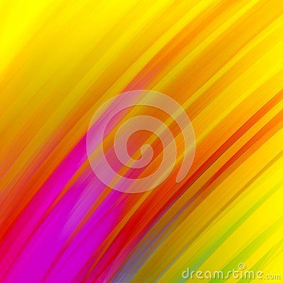Abstract Diagonal Stripes In Bold Gold Purple Red Blue Green And