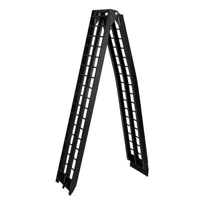 Sponsored Ebay 10ft Black Atv Truck Loading Ramp Motorcycle Aluminium Portable Trailer 600 Lbs In 2020 Loading Ramps Aluminum Ramp Atv