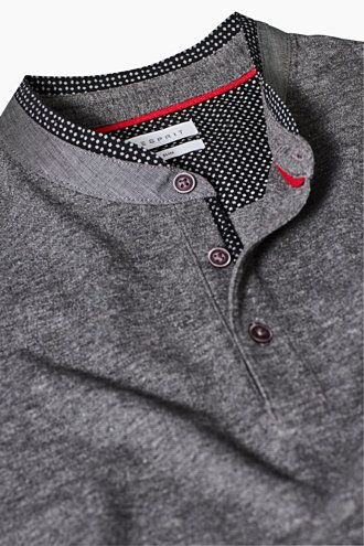 2XL New Top Quality Mens Long Sleeve Check Polo Sweatshirt Top M