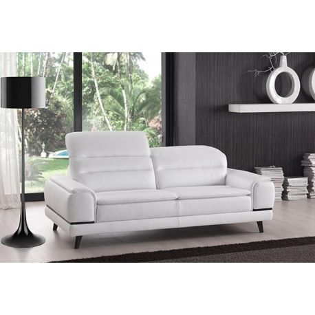 Canape Moderne Gao Canape Moderne Canape Blanc Cuir Canape Avec Tetiere