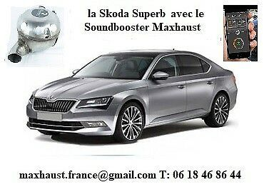 Epingle Sur Le Son Du V8 Soundbooster Maxhaust