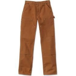 Reduced summer pants for women -  Carhartt Firm Duck Double-Front Work Dungaree Pants Brown 34 CarharttCarhartt  - #Artists #Ceramics #FashionTrends #pants #Pottery #reduced #RunwayFashion #summer #women #Women'sStreetStyle
