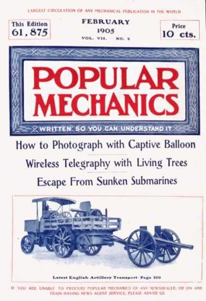 Popular Mechanics Covers