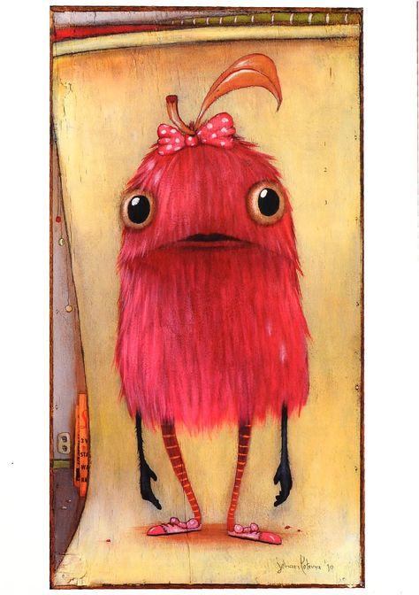 Pink Creature by Johan Potma