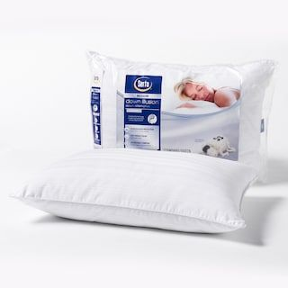 Columbia Medium Firm Side Sleeper Down Chamber Pillow Bed