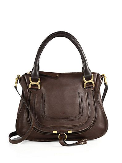 729d65bb710f Chloé Marcie Medium Leather Shoulder Bag - Celebrities who wear