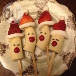 Weihnachtsdeko Zum Essen.Nikolaus Dessert Für Kinder Rezept St Nicolas Fingerfood