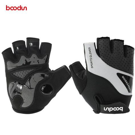 Boodun Cycling Gloves Half Finger Bicycle Gloves Bike Gel Pad Racing Biking  Gloves Guantes Ciclismo Luva Guantes Bisiklet abfef860f