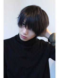 ミディアムマッシュ ヘアスタイル 髪型