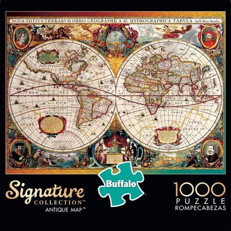 Antique Map Jigsaw Puzzle (1000 Pieces)