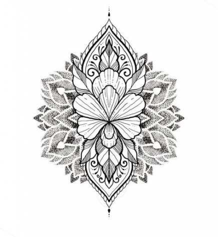 49+ ideas for tattoo femininas pontilhismo #tattoo