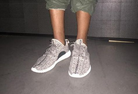 Kanye West Debuted New Yeezy Boost Sneakers at his adidas