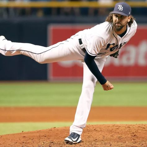 Chaz Roe Pitcher Tampa Bay Rays In 2020 Tampa Bay Rays Baseball Pitcher Baltimore Orioles
