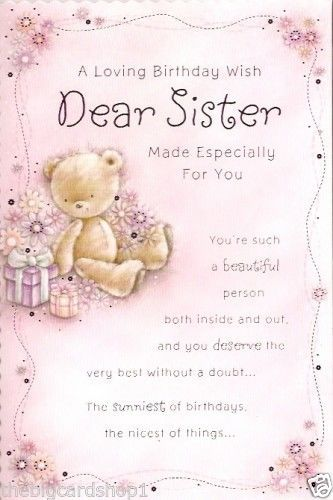 Sister birthday messages sisters are a best friend when they are sister birthday messages sisters are a best friend when they are older they may pick on you but they will always be there for you a younger si bookmarktalkfo Gallery