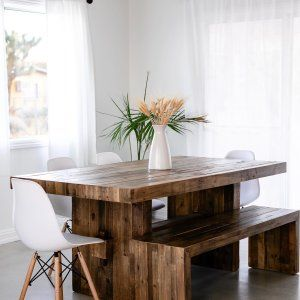 Emmerson 174 Reclaimed Wood Dining Table Reclaimed Pine In