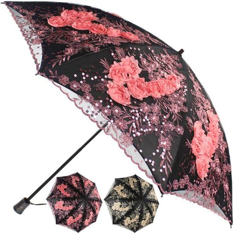 EnnE Funny Chicken and Cat Umbrella Rain Umbrella Compact Foldable Travel Umbrella Easy Carrying