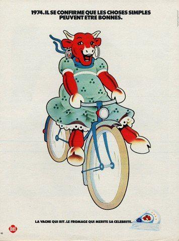 1974 La vache qui rit.