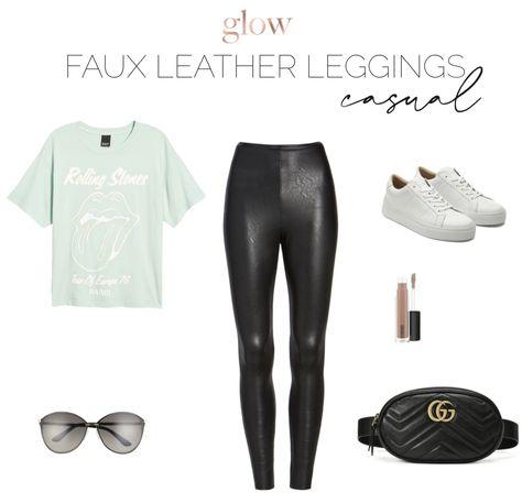 #howtostyle #howtowear #fauxleatherleggings #style #styleinspiration #casualstyle  #casualoutfits  #casualfashion  #casual  #weekendlook  #womensclothing #fashionoutfits