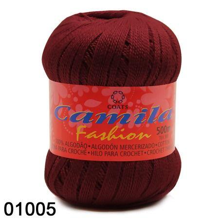 Linha Camila Fashion 500 Ref 4450 Camila Trabalhos Em Croche Linha