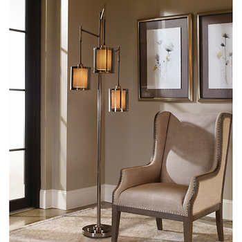 Stallings 3 Arm Metal Floor Lamp Metal Floor Lamps Vintage Floor Lamp Black Floor Lamp