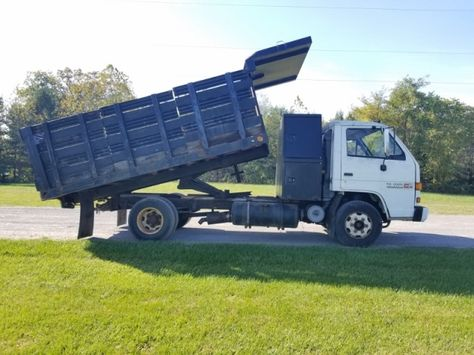 1994 Gmc W4500 Diesel Stakebody Dump Truck Trucks Trucks For Sale Dump Truck