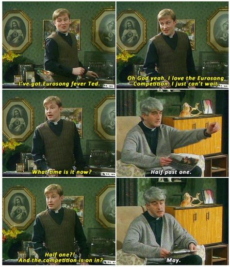 When Dougal got a bit excited about Eurosong. | 22 Times