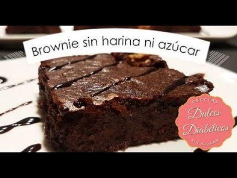 receta de brownie para la diabetes tipo 2