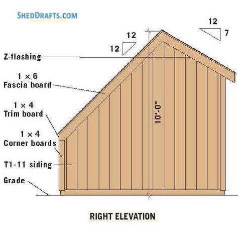 10 12 Greenhouse Saltbox Garden Shed Plans Blueprints For Assembling Backyard Building Backyard Buildings Garden Shed Shed Plans