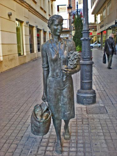 Photos Of Castellon De La Plana Spain Wolpy Castellon Statue