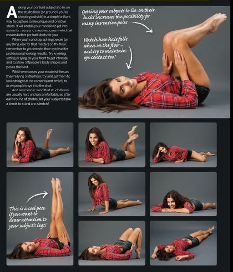 Get Creative In Front Of The Camera. How To Pose.