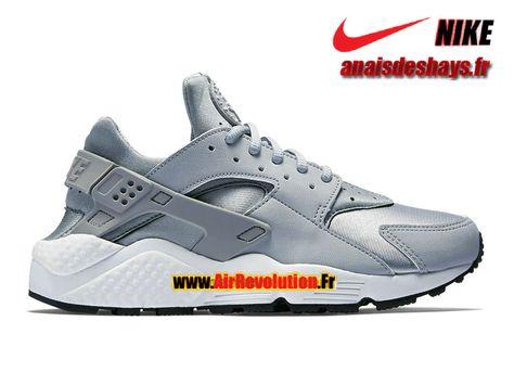 Boutique Officiel Nike Air Huarache Run Homme Gris loup