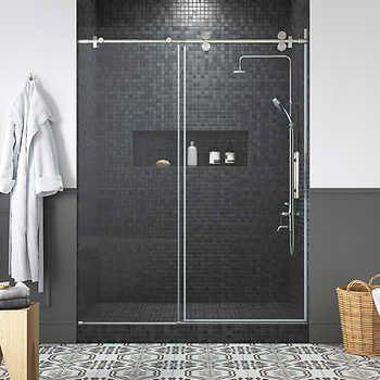 Ove Decors Orlando 60 Shower Door In 2020 Shower Doors Glass Shower Doors Tempered Glass Shower Doors