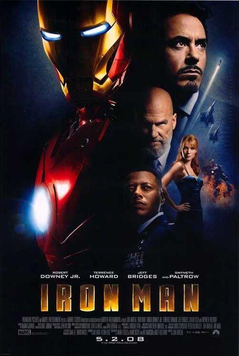 Iron Man - Robert Downey Jr. is perfect casting as Tony Stark