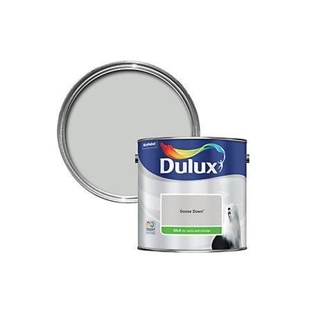 Dulux Standard Goose Down Paint 2 5l Departments Diy At B Q Dulux Dulux Paint Colours Grey Dulux Paint Colours