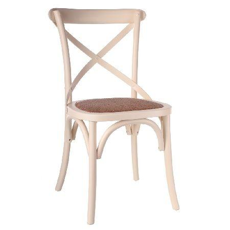 sillas clasicas madera blanca