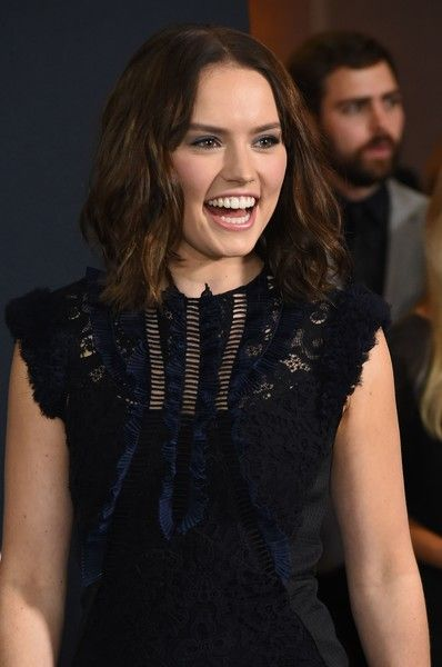 Actress Daisy Ridley attends the 43rd Student Academy Awards at the Academy of Motion Picture Arts and Sciences.