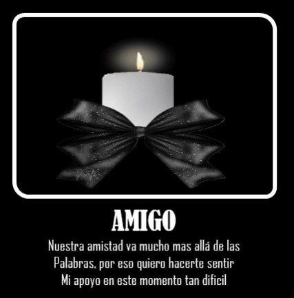 Imagenes Con Frases De Luto Por Un Amigo Descanse En Paz