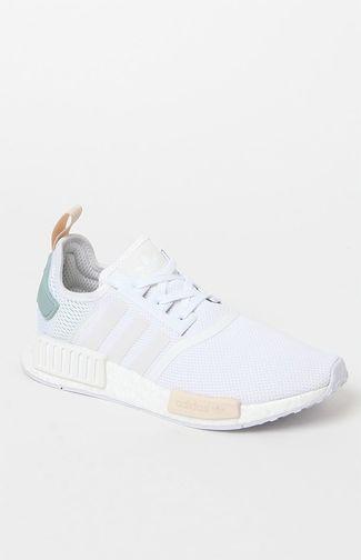 4c71954754 Women#39;s White NMD-R1 Sneakers | Curvy petite fashion | Shoes ...