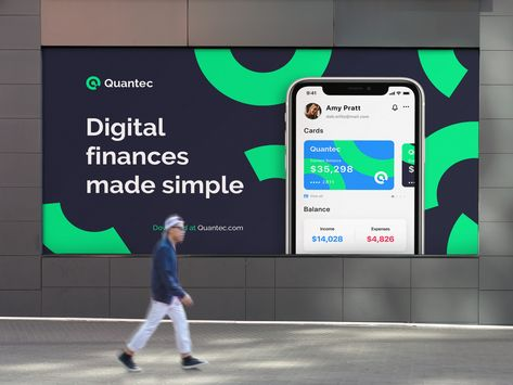 Quantec | Marketing billboard