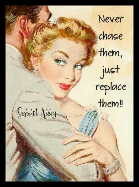 Smart assy and a wee bit Sassy ; Retro Humor, Vintage Humor, Retro Funny, Vintage Ladies, Retro Vintage, Quotes Funny Sarcastic, Sassy Quotes, Me Quotes, Retro Quotes