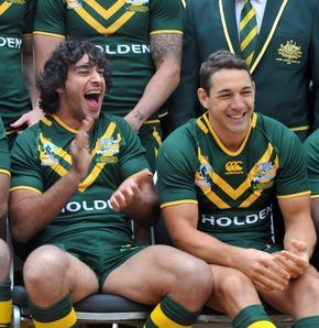 Billy Slater and Johnathan Thurston, 2 of my biggest ideals
