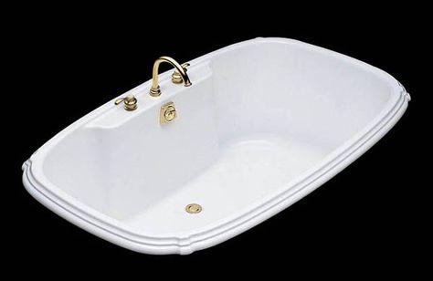 kohler 1454 portrait drop-in tub | lowe's canada | bathroom