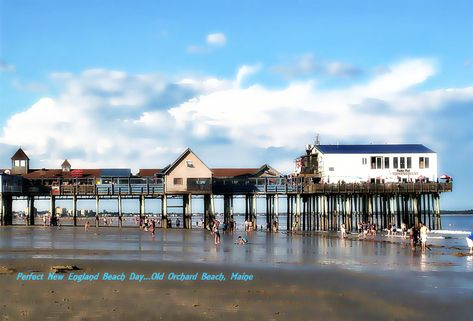 the pier by 65bubbles all about new england old orchard beach rh pinterest com