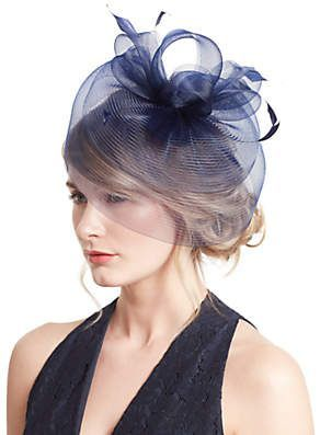 62f5811c43ccd John Lewis Eva Loop Crin Fascinator ~affiliate #fascinator #wedding #races # hat