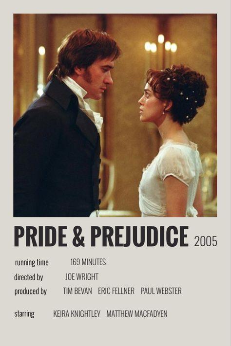 pride and prejudice polaroid poster