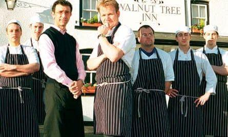 Ramsay S Kitchen Nightmares The Walnut Tree Inn Open Kitchen Nightmares Top Restaurants In London Ramsay